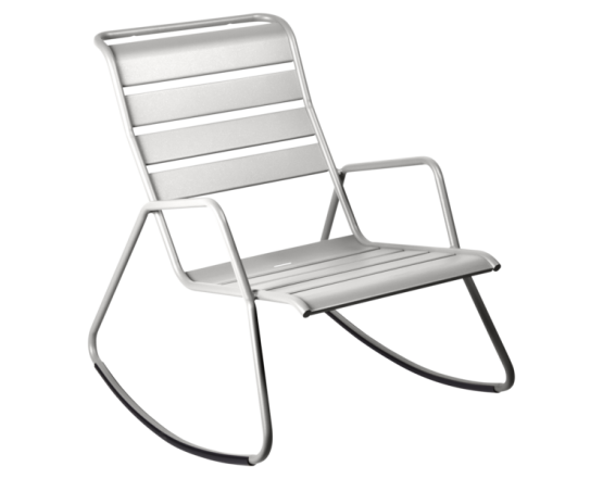 Кресло-качалка Monceau Steel Grey: фото - магазин CANVAS outdoor furniture.