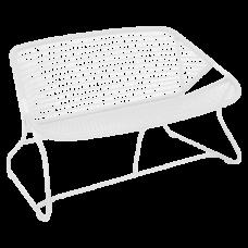 Sixties Bench 118 Cotton White : фото - магазин CANVAS outdoor furniture.