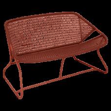 Sixties Bench 118 Red Ochre: фото - магазин CANVAS outdoor furniture.