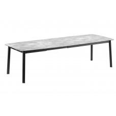 Обеденный стол Ancone Extendable Table 220/280x108 Ciment Black: фото - магазин CANVAS outdoor furniture.