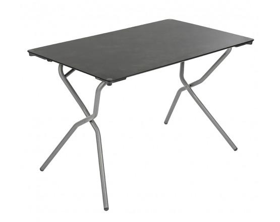 Складной стол Anytime 110x68 Titane: фото - магазин CANVAS outdoor furniture.