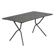 Складной стол Anytime 139x79 Black: фото - магазин CANVAS outdoor furniture.