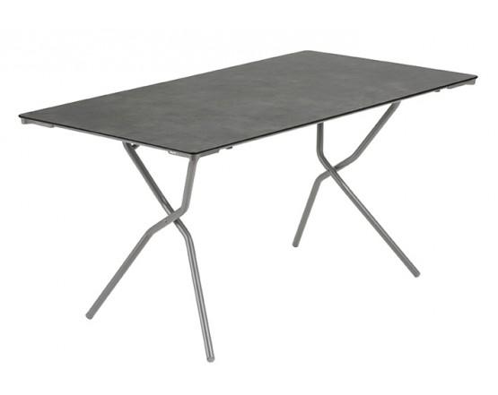 Складной стол Anytime 139x79 Titane: фото - магазин CANVAS outdoor furniture.
