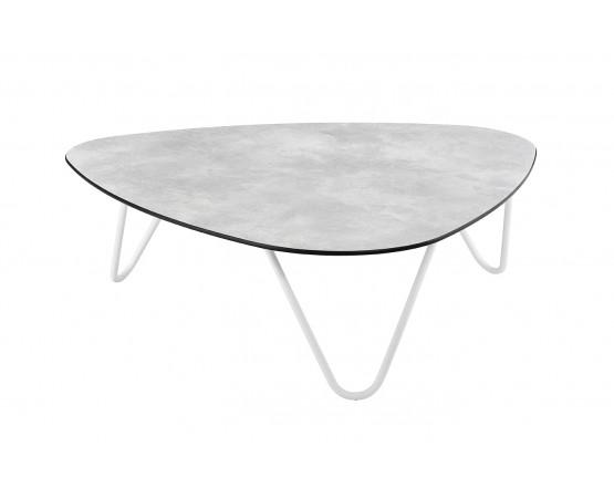 Кофейный стол COCOON Table Ciment: фото - магазин CANVAS outdoor furniture.