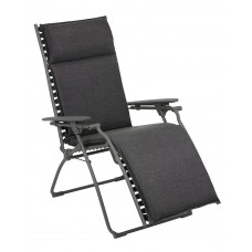 Кресло - шезлог Bayanne recliner Onyx: фото - магазин CANVAS outdoor furniture.