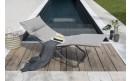 Шезлонг Bayanne Chaise Lounge Onyx: фото - магазин CANVAS outdoor furniture.