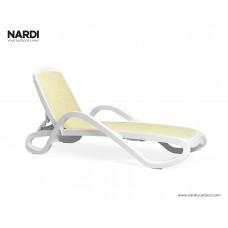 Шезлонг Alfa Bianco Beige: фото - магазин CANVAS outdoor furniture.