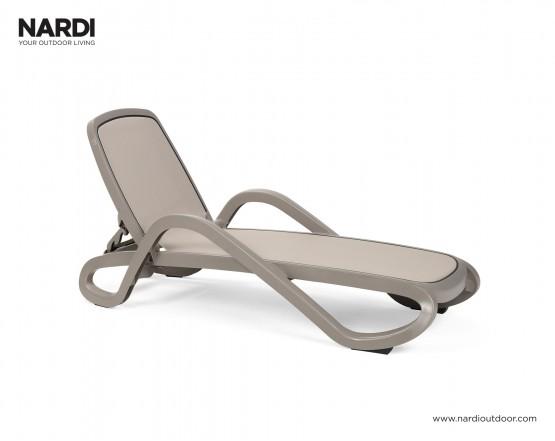 Шезлонг Alfa Tortora Tortora: фото - магазин CANVAS outdoor furniture.