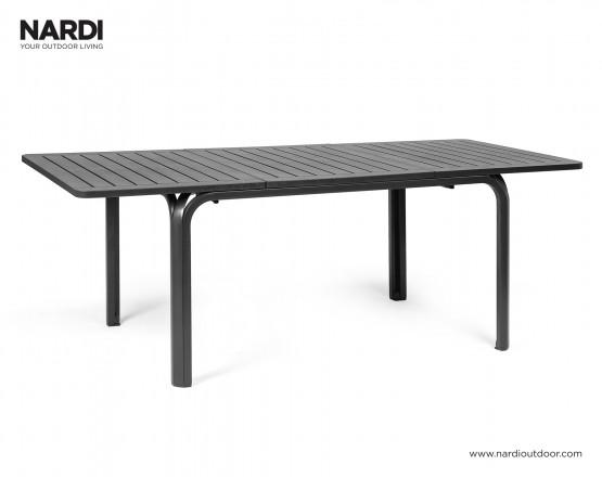 Стол Alloro 140 Extensible Antracite Vern Antracite: фото - магазин CANVAS outdoor furniture.