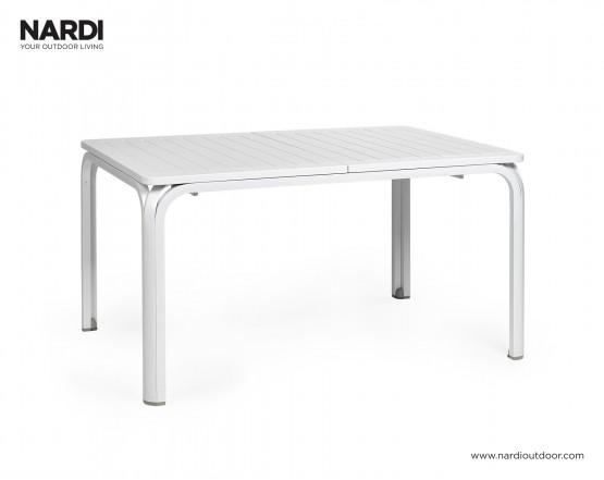 Стол Alloro 140 Extensible Bianco Vern Bianco: фото - магазин CANVAS outdoor furniture.