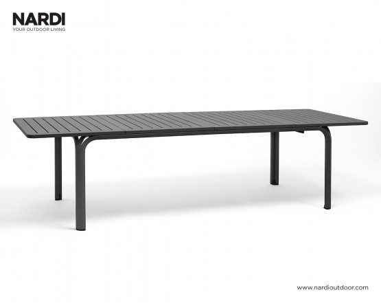 Стол Alloro 210 Extensible Antracite Vern Antracite: фото - магазин CANVAS outdoor furniture.
