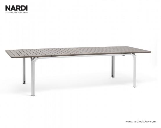 Стол Alloro 210 Extensible Tortora Vern Bianco: фото - магазин CANVAS outdoor furniture.