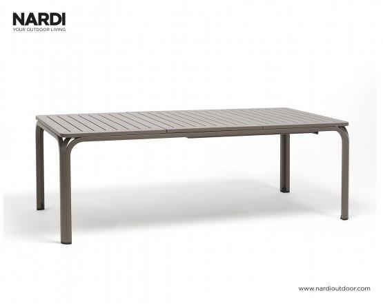 Стол Alloro 210 Extensible Tortora Vern Tortora: фото - магазин CANVAS outdoor furniture.