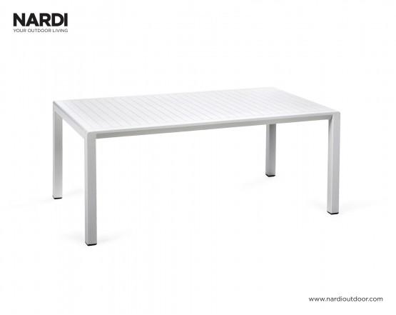 Стол Aria 100 Bianco: фото - магазин CANVAS outdoor furniture.