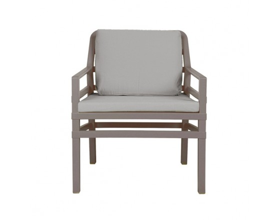 Кресло Aria Tortora Grigio: фото - магазин CANVAS outdoor furniture.