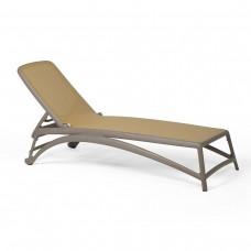 Шезлонг Atlantico Tortora Deserto: фото - магазин CANVAS outdoor furniture.