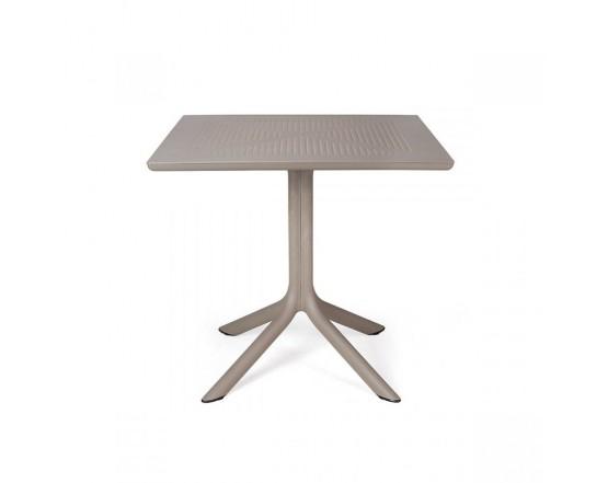 Стол Clip 80 Tortora: фото - магазин CANVAS outdoor furniture.