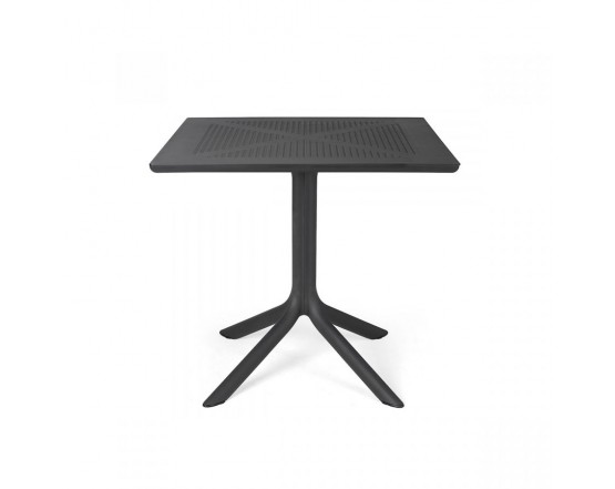 Стол Clip 80 Antracite: фото - магазин CANVAS outdoor furniture.