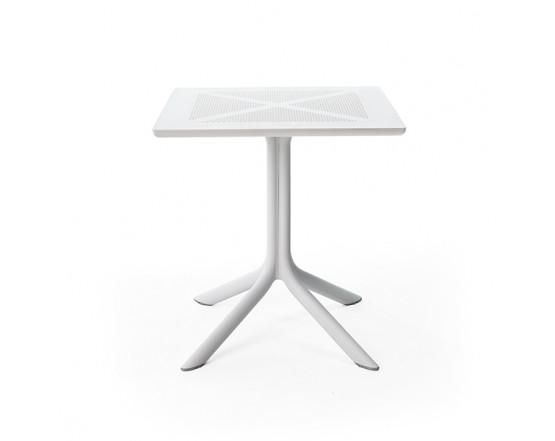 Cтол ClipX 70 Bianco: фото - магазин CANVAS outdoor furniture.