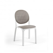 Стул Dalia Bianco Tortora: фото - магазин CANVAS outdoor furniture.
