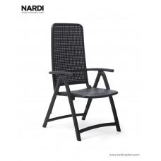 Кресло-шезлонг Darsena Antracite: фото - магазин CANVAS outdoor furniture.