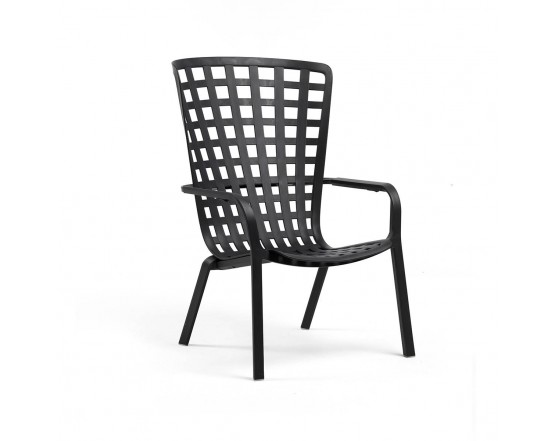 Кресло Folio Anthracite: фото - магазин CANVAS outdoor furniture.