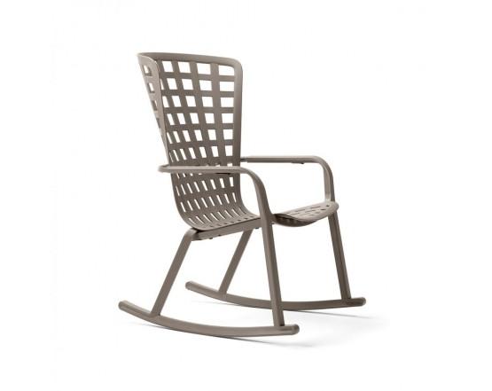 Кресло-качалка Folio Rocking Tortora: фото - магазин CANVAS outdoor furniture.