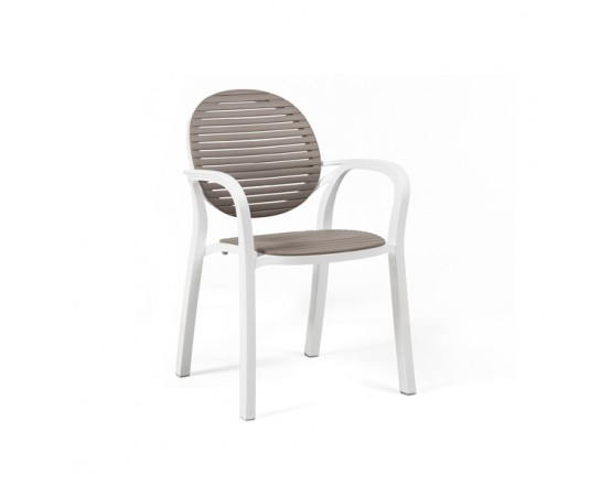 Кресло Gardenia Bianco Tortora: фото - магазин CANVAS outdoor furniture.
