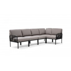 Модульный диван Komodo 5 Antracite Grigio : фото - магазин CANVAS outdoor furniture.
