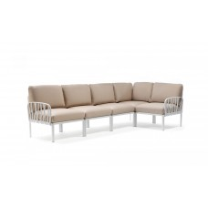 Модульный диван Komodo 5 Bianco Canvas Sunbrella Laminato: фото - магазин CANVAS outdoor furniture.