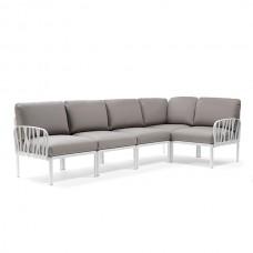 Модульный диван Komodo 5 Bianco Grigio: фото - магазин CANVAS outdoor furniture.