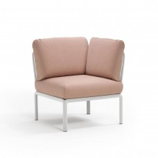 Модуль Komodo Elemento Angolo Bianco Rosa Quarzo : фото - магазин CANVAS outdoor furniture.