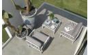 Кофейный столик Komodo Tavolino Vetro Bianco: фото - магазин CANVAS outdoor furniture.