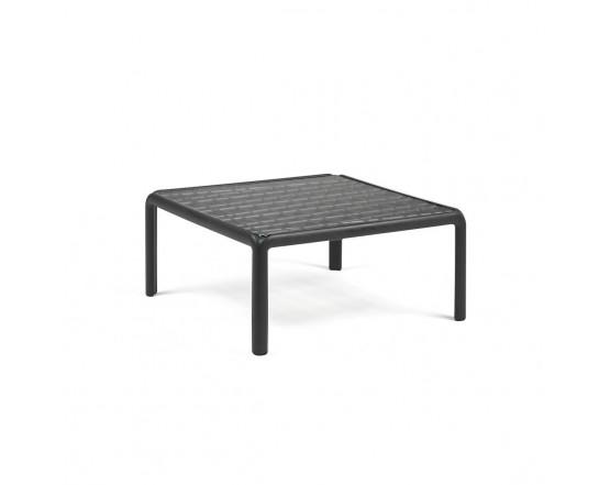 Кофейный столик Komodo Tavolino Vetro Antracite: фото - магазин CANVAS outdoor furniture.
