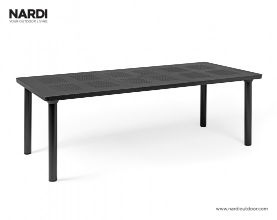 Стол Libeccio Antracite Vern Antracite: фото - магазин CANVAS outdoor furniture.