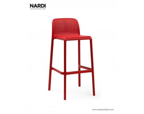 Барный стул Lido Rosso: фото - магазин CANVAS outdoor furniture.