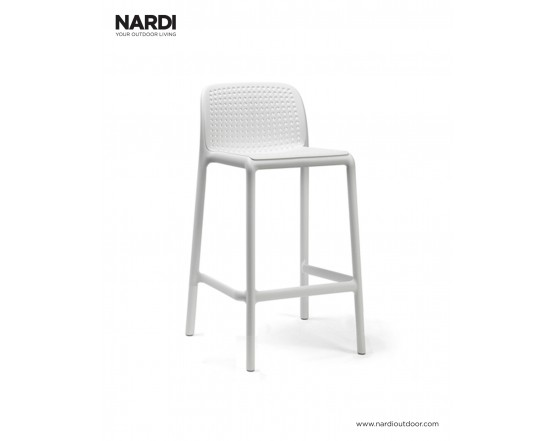 Барный стул Lido Mini Bianco: фото - магазин CANVAS outdoor furniture.