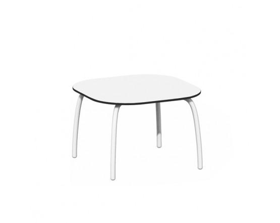 Кофейный столик Loto Relax 60 Bianco Verniciato: фото - магазин CANVAS outdoor furniture.