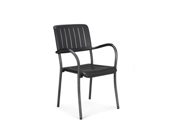 Кресло Musa Antracite Vern Antracite: фото - магазин CANVAS outdoor furniture.