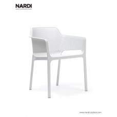 Стул Net Bianco: фото - магазин CANVAS outdoor furniture.