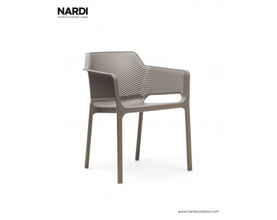 Стул Net Tortora: фото - магазин CANVAS outdoor furniture.