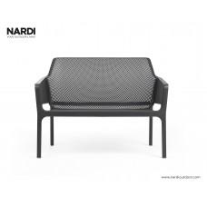 Скамейка Net Bench Antracite: фото - магазин CANVAS outdoor furniture.