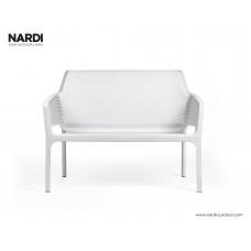 Скамейка Net Bench Bianco: фото - магазин CANVAS outdoor furniture.