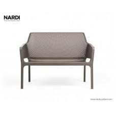 Cкамейка Net Bench Tortora: фото - магазин CANVAS outdoor furniture.