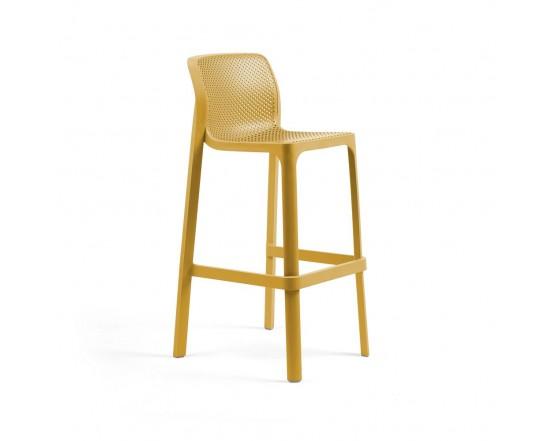 Барный стул Net Stool Senape: фото - магазин CANVAS outdoor furniture.