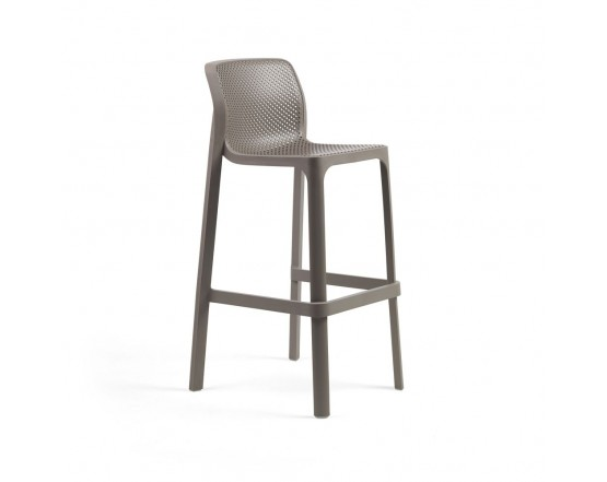 Барный стул Net Stool Tortora: фото - магазин CANVAS outdoor furniture.