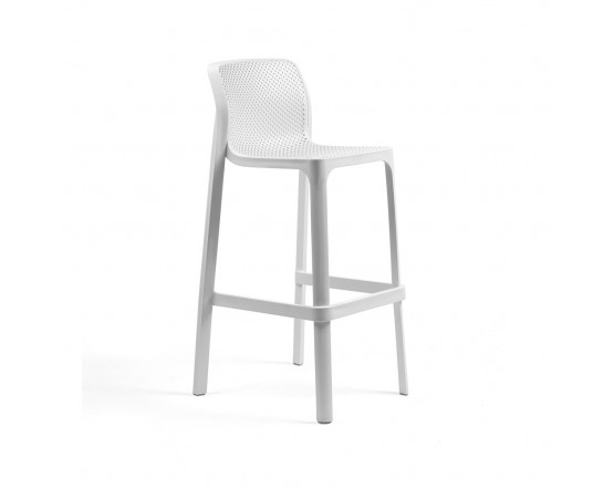Барный стул Net Stool Bianco: фото - магазин CANVAS outdoor furniture.
