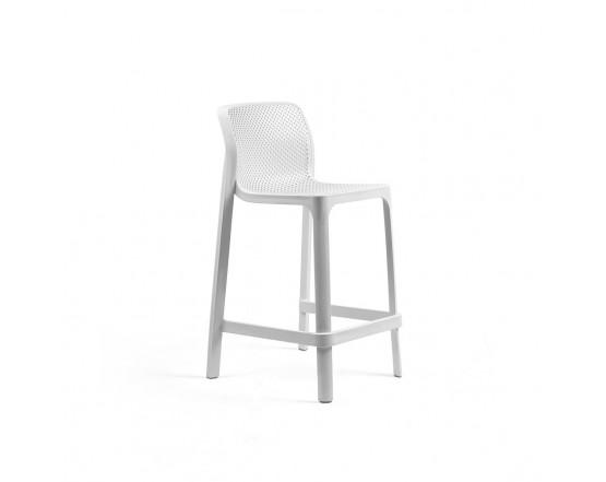 Барный стул  Net Stool Mini Bianco: фото - магазин CANVAS outdoor furniture.