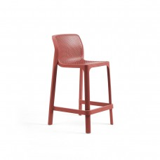 Барный стул Net Stool Mini Corallo: фото - магазин CANVAS outdoor furniture.