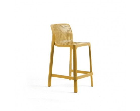 Барный стул  Net Stool Mini Senape: фото - магазин CANVAS outdoor furniture.
